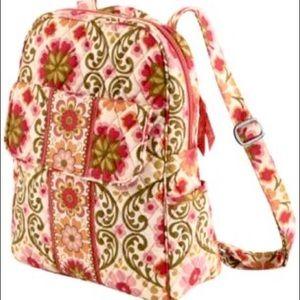 Vera Bradley FOLKLORIC Grande Laptop Backpack